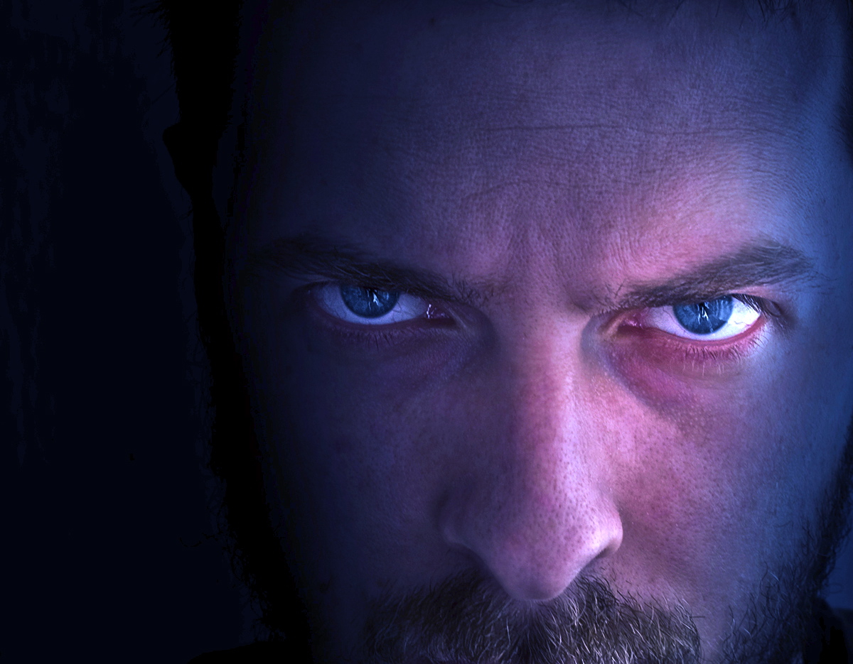 angry eyes man - photo #1