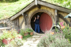 My own private Hobbit Hole!