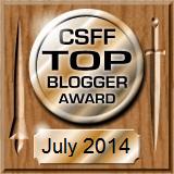 CSFFTopBloggerJuly14